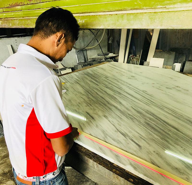 Sunshine Marble Sdn Bhd - Malaysia Marble & Granite Supplier - Measuring